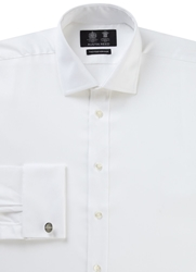 Austin Reed Classic Fit Oxford Shirt White