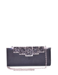 Sasha Sparkle Clutch Black