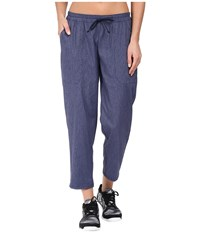 Lucy Destination Anywhere Pants Navy Heather Women's Casual Pants Gray