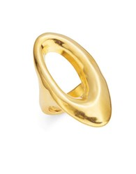 Uno De 50 Orbiting Cocktail Ring Gold