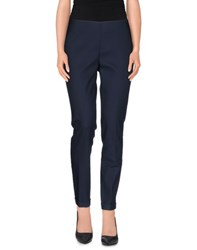Andrea Morando Trousers Casual Trousers Women Slate Blue