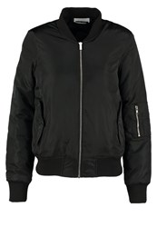 Noisy May Nmtrack Bomber Jacket Black