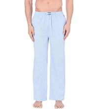 Ralph Lauren Gingham Pyjama Bottoms Light Blue