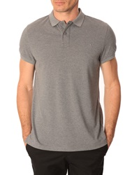 Menlook Label Colin Flecked Grey Polo