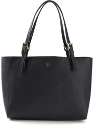 Tory Burch Small 'York' Buckle Tote Bag Blue