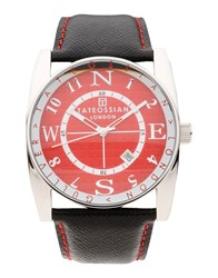 Tateossian Timepieces Wrist Watches Men Red
