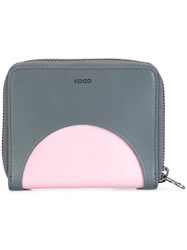 Kenzo 'Kurved' Colour Block Wallet Grey