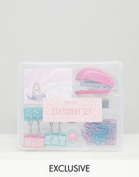 Paperchase Mermaid Stationery Set Multi
