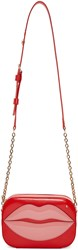 Charlotte Olympia Red Patent Leather Pouty Bag