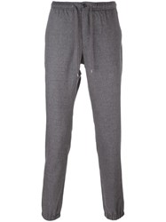 Michael Kors Drawstring Tapered Trousers Grey
