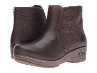 Spring Step Lene Dark Brown Women's Pull On Boots
