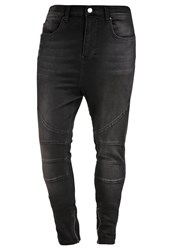 Religion Blade Slim Fit Jeans Jet Black Black Denim