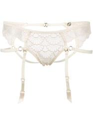 Bordelle 'Sensu' Ouvert Briefs Nude Neutrals