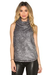 Backstage Ash Top Metallic Silver