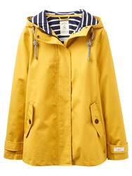 Joules Right As Rain Coast Waterproof Jacket Antique Gold