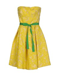 Imperial Star Imperial Dresses Short Dresses Women Yellow