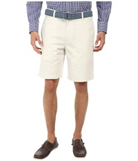 Vineyard Vines 9 Classic Summer Club Shorts Stone Men's Shorts White