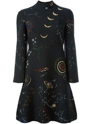 Valentino 'Astro Couture' Dress Black