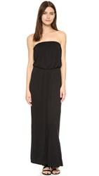 Velvet Tammie Slinky Maxi Dress Black