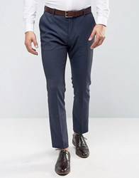 Selected Homme Slim Suit Tuxedo Trousers Navy