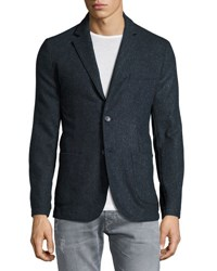 Neiman Marcus Modern Fit Two Button Sport Coat Moonlight