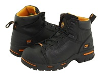 Timberland Endurance Pr 6 Waterproof Steel Toe Black Men's Work Lace Up Boots