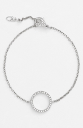 Nadri Symbol Station Bracelet Nordstrom Exclusive Circle Silver Clear