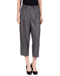 Stella Jean Casual Pants Grey
