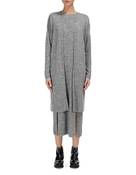 Whistles All Needle Knit Cardigan Pale Grey