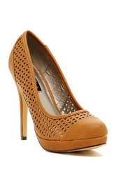 Michael Antonio Lures Stiletto Pump Brown