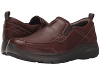 Clarks Charton Step Brown Leather Men's Slip On Shoes