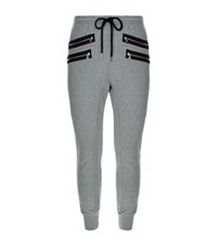 Markus Lupfer Zip Cargo Sweatpants Male Grey