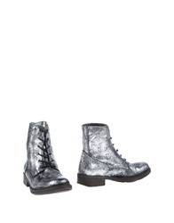 Oto Ankle Boots Silver