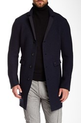 Mason Quilted Trim Wool Blend Blazer