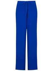 Ghost Gillan Palazzo Trousers Cobalt Blue