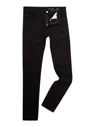 Religion Noize Slim Fit Black Jeans