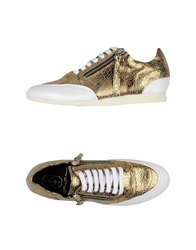 Bruno Bordese Low Tops And Trainers Gold
