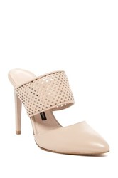 French Connection Mollie Slip On Heel Beige