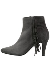 Pier One Ankle Boots Dark Grey Dark Gray
