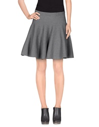 Molly Bracken Mini Skirts Grey