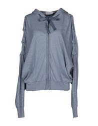 Adidas By Stella Mccartney Sweaters Slate Blue
