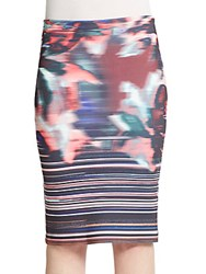 Clover Canyon Floral Ikat Skirt Multli