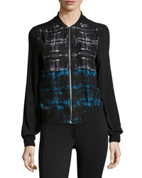 Dex Abstract Print Front Zip Jacket Imperial Abstract Print