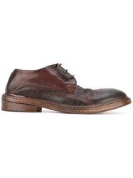Marsell 'Best' Lace Up Shoes Red