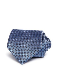 Bloomingdale's The Men's Store At Open Circle Neat Classic Tie Lt Blue Brown