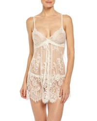 Jonquil Alana Mesh Lace G String Thong Ivory Size S