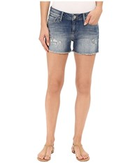 Mavi Jeans Emily In Used Ripped Vintage Used Ripped Vintage Women's Shorts Blue