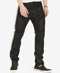 Denim And Supply Ralph Lauren Men's Prospect Slim Moto Jeans Black