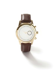 Topman Brown Leather Watch