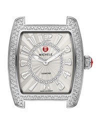 Urban Mini Diamond Stainless Watch Head Red Michele